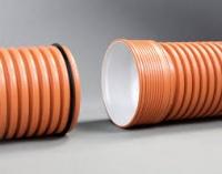 Труба ПВХ гофрированная ф800 мм для наружной канализации|escape:'html'