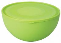 Салатница Ucsan Frosted Bowl пластиковая 4000мл круглая с крышкой|escape:'html'