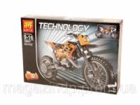 Конструктор «;TECHNOLOGY»; «;Кроссовий мотоцикл»; 8041 Код:04003841