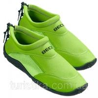 Тапочки для плавания и серфинга BECO зелёный 9217 8 39|escape:'html'