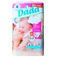 Дитячі одноразові підгузники Dada Premium 3, 64 шт escape:'html'
