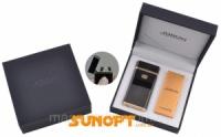 Электроимпульсная зажигалка в подарочной упаковке Jobon (USB) №XT-4883-3 Код:627505927|escape:'html'