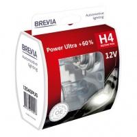 Галогеновые лампы Brevia H4 +60%