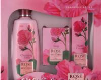 Комплект для женщин Rose of Bulgaria (молочко для лица, мыло, крем для рук)|escape:'html'