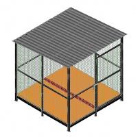 Вольер для собак мод.ВС-4  «Enclosure for dogs mod.ВС-4» escape:'html'