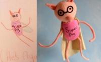 Инрушка «Свинтус» , зделана по фантазиях ребенка. escape:'html'