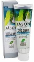 Зубная паста «Освежающая» с маслом кокоса и эвкалипта SimplyCoconut™ * Jason (США) *