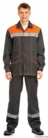 Куртка с полукомбинезоном для строителей|escape:'html'
