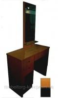 Туалетный столик, 0450W-1, черный дуб. туалетный столик киев купить, Будуарные столики. Купить оптом мебель