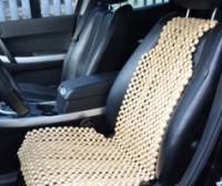 Деревянная массажная накидка на автокресло