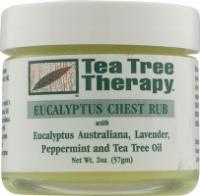 Противопростудный бальзам с маслами эвкалипта, лаванды, перечной мяты и чайного дерева * Tea Tree Therapy (США) *