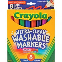 Crayola смываемые маркеры 8 шт. (Washable markers CRAYOLA)