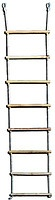 Веревочная лестница деревянная (8 палок, длина 190 см)