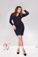 Платье (Черный) 870_1