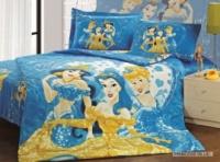 Детский набор постельного белья Arya Принцессы (цвет голубой и фуксия) escape:'html'