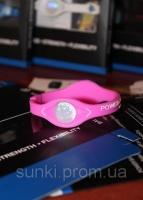 Power Balance энергетический силиконовый женский браслет розового цвета размер S|escape:'html'