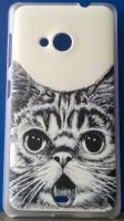 Красивый чехол для Microsoft Lumia 535 котик|escape:'html'