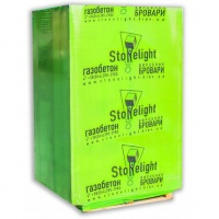 Газобетон Stonelight (Бровары) D-400/500 (1,92 м3/паллета)