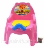 Горшок детский кресло КРАСНЫЙ/РОЗОВЫЙ/ОРАНЖ Код:08003244 escape:'html'