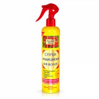Золотой Шелк спрей-кондиционер для волос Эффект биовыпрямления 350мл