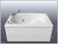 Акриловая ванна Bisante Мини 1050x700x550 с сидением escape:'html'