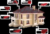 Аксессуары для крыши (торцевая, карнизная, конек, снегобарьер, уголок)|escape:'html'