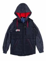 Деми куртка-трансформер на мальчика. Размер 36-44|escape:'html'