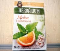 Травяной чай Herbarium мелиса + апельсин 20 пак.|escape:'html'