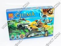 Конструктор CHIMА 10056 (24) 422 дет