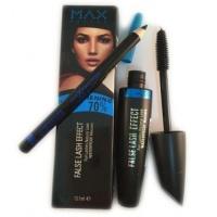 Тушь Max Factor FALSE LASH EFFECT (черно-голубая туба) + карандаш|escape:'html'