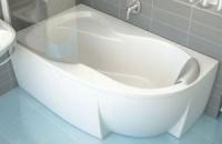 Акриловая ванна Bisante Роза (Левая) 1500х1050х580 мм|escape:'html'