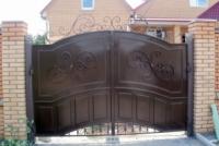 Ворота распошныее и калитка (вр-3) escape:'html'