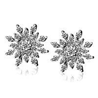 Серьги «Madeleini» покрытие серебро с кристаллами swarovski|escape:'html'