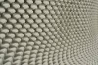 Ячеистый поролон волна 1мХ1мХ50мм светло-серый|escape:'html'