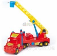 Игрушечная машинка Пожарная машина из серии Super Truck Wader (36570) Код:425|escape:'html'