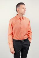 Рубашка мужская яркая с длинным рукавом AG-0002189 Оранжевый|escape:'html'