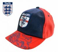 Бейсболка детская красная с синим «The FA England», бренд «FA»|escape:'html'