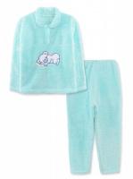 Зимняя детская пижама МИШКА рваная махра в расцветках, р.116|escape:'html'
