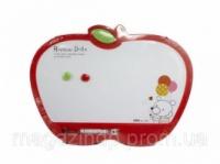Доски детские для рисования Deli 7809Е 30х40 «Яблоко» с маркером, цветн рамка Код:388906651|escape:'html'