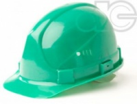 Каска строительная зеленая escape:'html'
