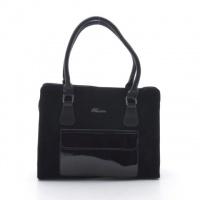 Вместительная женская сумка от украинского производителя с цветочным принтом модель 54-13/3 escape:'html'
