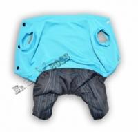 Комбинезон с утепленными штанами Голубой Размер XS / S / M / L|escape:'html'
