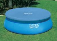 Тент защитный диаметром 305см Intex 28021 для бассейна c верхним надувным кольцом|escape:'html'