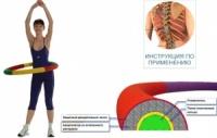 Массажный Обруч Здоровья 1000 мм, вес 1,1 кг|escape:'html'