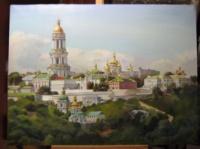 «Внимание!!! Великолепная Картина маслом Киево-Печерская лавра!»
