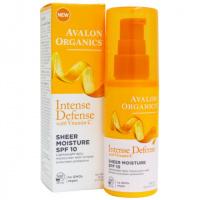 Увлажняющий лосьон для лица SPF10 с витамином С, биофлавоноидами лимона и экстрактом белого чая *Avalon Organics (США)* escape:'html'