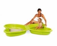 Песочница-бассейн с подводом для воды, 167х111х18 см, 2 +|escape:'html'