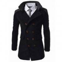 Мужское пальто с длинным рукавом, пальто бренд тёплое, пальто мужское, чоловіче пальто