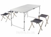 Стол 120*60см и 4 стула - набор мебели для пикника|escape:'html'