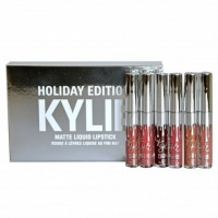 Набор матовых помад Kylie Holiday Edition​,суперстойкие помады|escape:'html'